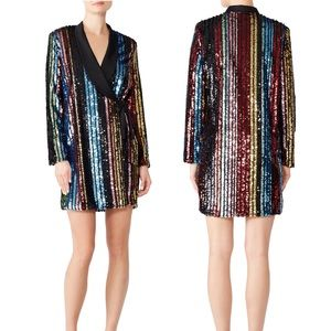 RAGA Sequin Charlize Blazer Dress